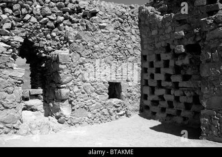 masada the columbarium - Stock Photo