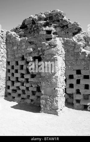 masada ,the columbarium - Stock Photo