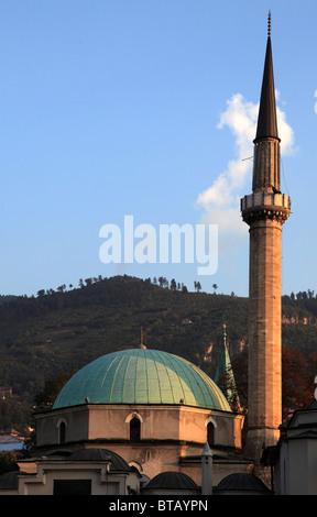 Bosnia and Herzegovina, Sarajevo, Emperor's Mosque, - Stock Photo