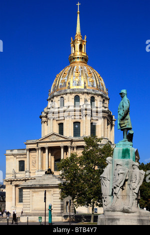 France, Paris, Les Invalides, Église du Dôme, - Stock Photo