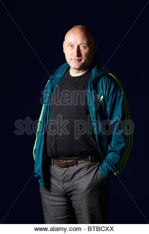 Jah Wobble, born John Wardle a bass player who worked with Sinead O'Connor and Bjork who has written a book Memoirs - Stock Photo