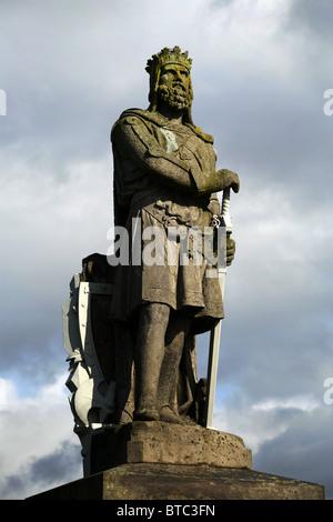 Robert the Bruce Statue, Stirling Castle, Stirling, Scotland