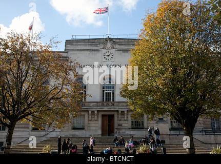 Hackney Town Hall, London - Stock Photo