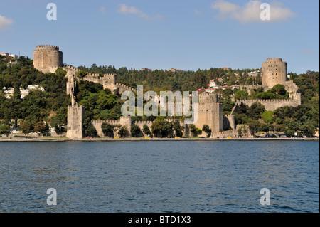 Rumeli Hisarı, Bosphorus, İstanbul, Turkey 100916 36044 - Stock Photo