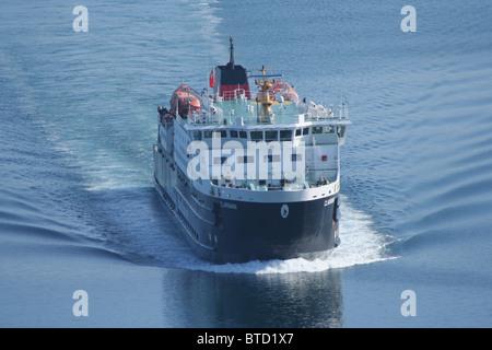 Caledonian MacBrayne ferry MV Clansman  Scotland  June 2007 - Stock Photo