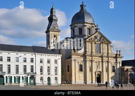 Saint Peters' church and abbey / Onze-Lieve-Vrouw-Sint-Pieterskerk in Ghent, Belgium - Stock Photo