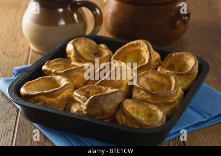 Yorkshire puddings. UK Food - Stock Photo