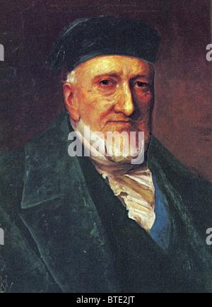 4752. SIR MOSES MONTEFIORE (1784–1885) Philanthropist, born in Livorno, W Italy - Stock Photo