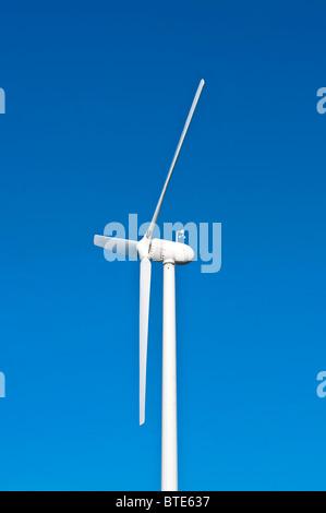 Small wind turbine - France. - Stock Photo