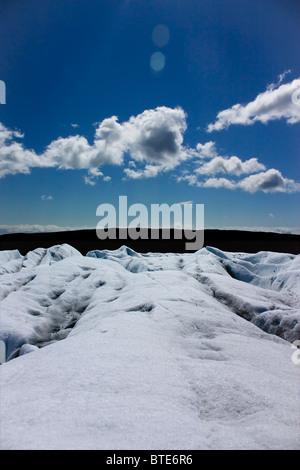 Vatnajokull: Icelandic Glacier - Stock Photo