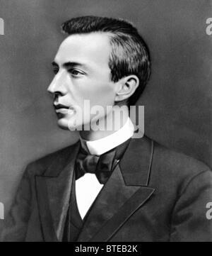 Russian composer, pianist Sergei Vasilievich Rachmaninoff - Stock Photo