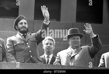 fidel castro and nikita khrushchev relationship