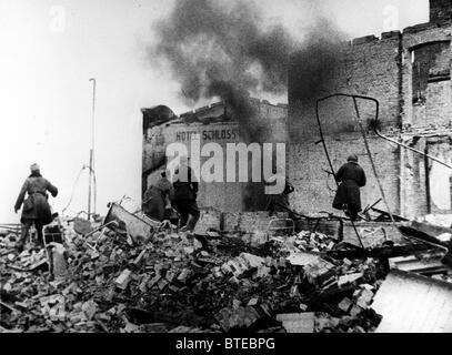 GreatPatrioticWar. Eastern Prussia, 1945 - Stock Photo