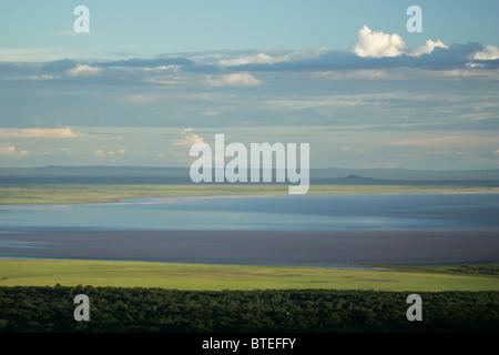 Lake Manyara landscape - Stock Photo