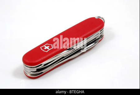 Victorinox Swiss Army knife - survival kit - Stock Photo