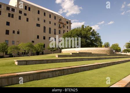 Survivor Tree at Oklahoma City National Memorial USA - Stock Photo