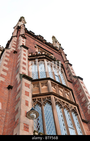 Tower of the Lanyon Building, Queens University, Belfast - Stock Photo