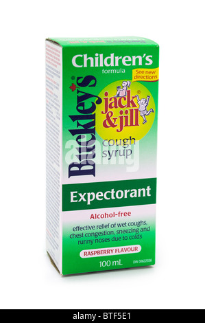 Children's Cough Syrup - Stock Photo