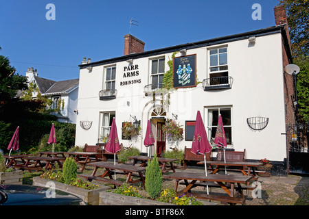 The Parr Arms pub at Grappenhall, Cheshire - Stock Photo