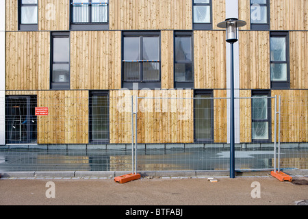 Apartment building under construction - Stock Photo