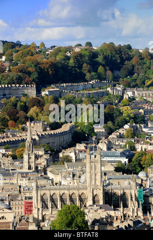 Bath Abbey - The City of Bath - Stock Photo