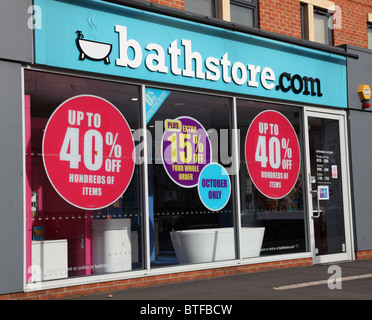 A Bathstore com showroom in Nottingham England U K Stock Photo  Bathstore  Bathroom Store High Street. Bathstore Ruislip
