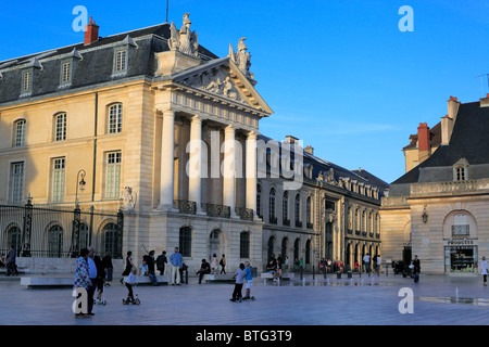 Palais des ducs de Bourgogne (Dukes of Burgundy's Palace), Dijon, Côte-d'Or departement, Burgundy, France - Stock Photo