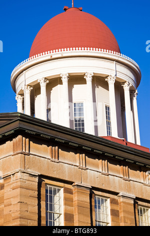 Springfield, Illinois - Dome of State Capitol - Stock Photo