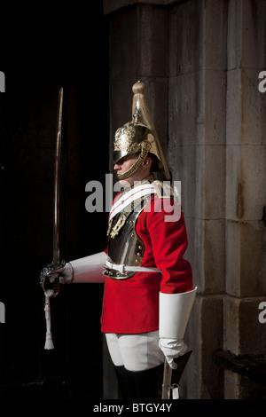 Horse guard on Duty - Stock Photo