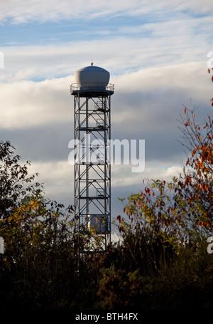Edinburgh airport radar tower - Stock Photo