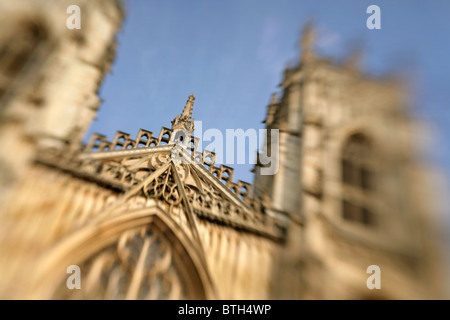 West face of York Minster, North Yorkshire, England. - Stock Photo