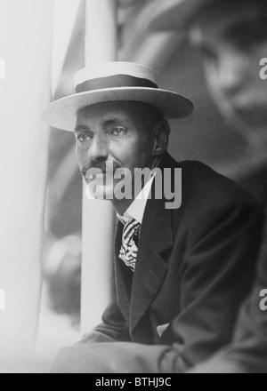 Vintage photo c1909 of millionaire American businessman + Titanic victim John Jacob Astor IV (1864 - 1912). - Stock Photo
