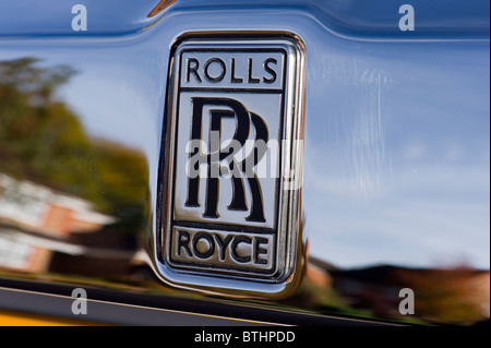 Front End Of A Rolls Royce Car Stock Photo Royalty Free Image