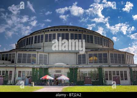 Centennial Hall (1913), UNESCO World Heritage Site, Wroclaw, Lower Silesia, Poland - Stock Photo