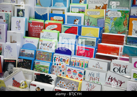 Birthday Cards Greetings Card Shop Display Ages Age On Card Stock