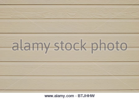 Wooden tables painted in light color. Background - Stock Photo