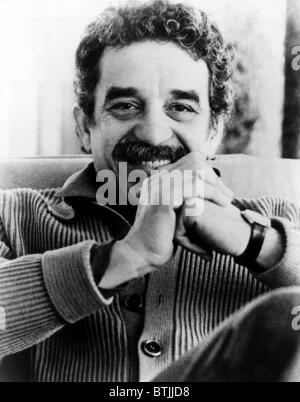 Gabriel Garcia Marquez, Colombian novelist, journalist, and Nobel Prize winner, 1962. - Stock Photo
