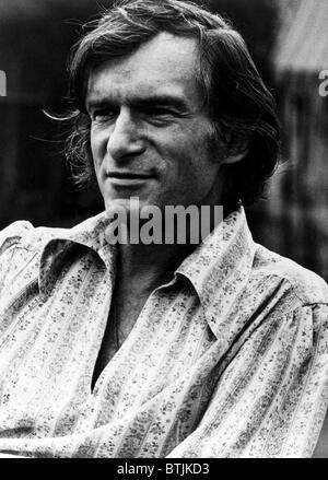 Hugh Hefner ca 1970s. Courtesy CSU Archives/Everett Collection. - Stock Photo
