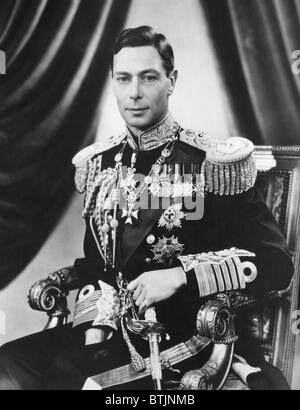 King George VI (1895-1952), King of the United Kingdom, May 3, 1937. - Stock Photo