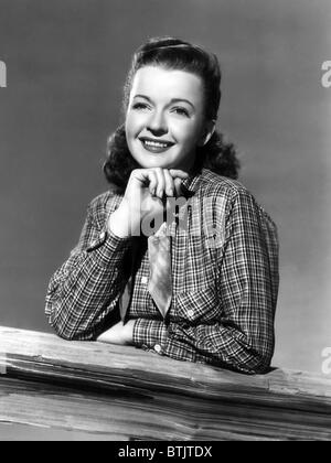 Dale Evans (1912-2001), American actress, singer and wife of Roy Rogers, circa 1950s. CSU Archives/Courtesy Everett - Stock Photo