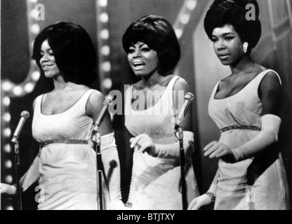 The Supremes (Florence Ballard, Diana Ross, Mary Wilson), circa 1966 - Stock Photo