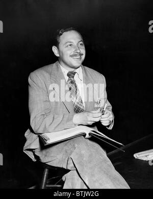 American playwright Tennessee Williams, (1911-1983), 1948. - Stock Photo