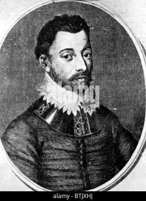SIR FRANCIS DRAKE, 1540 - 1596. - Stock Photo