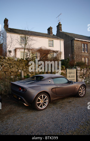 Lotus at the cottage - Stock Photo