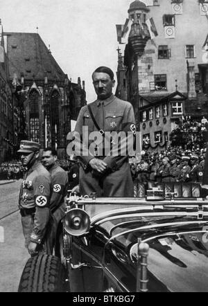 Adolf Hitler at Parteitag der Freiheit, 1935 - Stock Photo