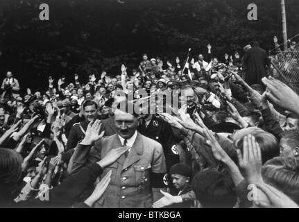 Adolf Hitler at Obersalzberg, ca. 1935 - Stock Photo