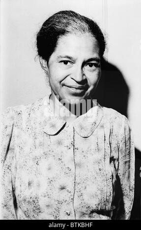 Rosa Parks was a member of the NAACP when she defied segregation laws by refusing to surrender her Montgomery Alabama - Stock Photo