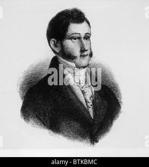 Augustin de Iturbide (1783-1824), emperor of Mexico (1822-1823) - Stock Photo