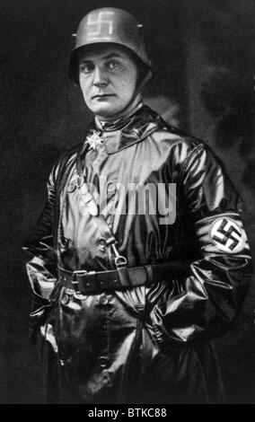 Hermann Goering, (1893-1946), German politician and military leader and leading member of the Nazi Party, 1923. - Stock Photo