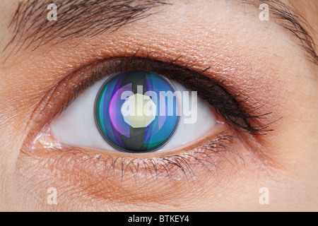 An eye - Stock Photo